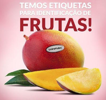 Etiquetas frutas e verduras